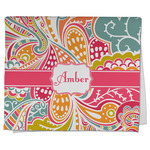 Abstract Foliage Kitchen Towel - Full Print (Personalized)