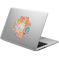 Abstract Foliage Laptop Decal (Personalized)