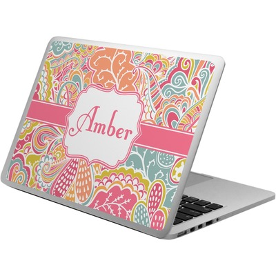 Abstract Foliage Laptop Skin - Custom Sized (Personalized)