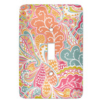 Abstract Foliage Light Switch Covers (Personalized)
