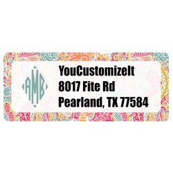 Abstract Foliage Return Address Labels (Personalized)