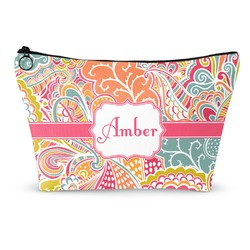 Abstract Foliage Makeup Bags (Personalized)