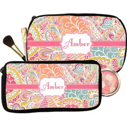 Abstract Foliage Makeup / Cosmetic Bag (Personalized)