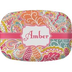 Abstract Foliage Melamine Platter (Personalized)