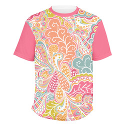 Abstract Foliage Men's Crew T-Shirt (Personalized)
