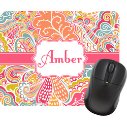 Abstract Foliage Mouse Pads (Personalized)