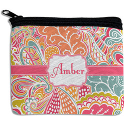Abstract Foliage Rectangular Coin Purse (Personalized)