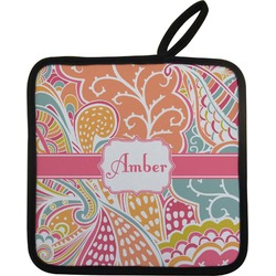 Abstract Foliage Pot Holder (Personalized)