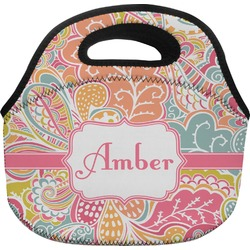 Abstract Foliage Lunch Bag (Personalized)