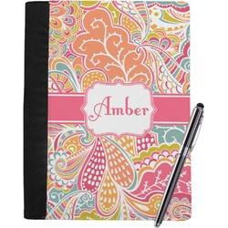Abstract Foliage Notebook Padfolio (Personalized)