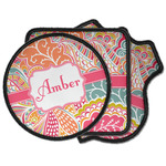 Abstract Foliage Iron on Patches (Personalized)