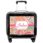 Abstract Foliage Pilot / Flight Suitcase (Personalized)