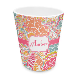 Abstract Foliage Plastic Tumbler 6oz (Personalized)