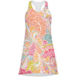 Abstract Foliage Racerback Dress (Personalized)