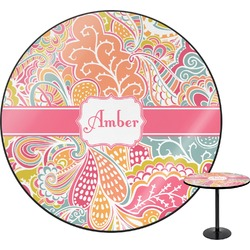 Abstract Foliage Round Table (Personalized)