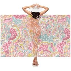 Abstract Foliage Sheer Sarong (Personalized)