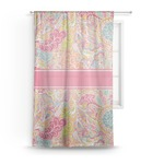 Abstract Foliage Sheer Curtains (Personalized)