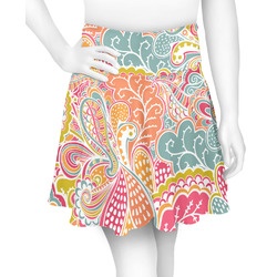 Abstract Foliage Skater Skirt (Personalized)