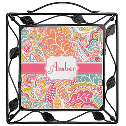 Abstract Foliage Trivet (Personalized)