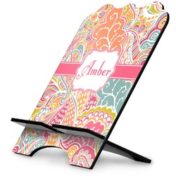 Abstract Foliage Stylized Tablet Stand (Personalized)