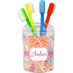 Abstract Foliage Toothbrush Holder (Personalized)