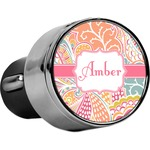 Abstract Foliage USB Car Charger (Personalized)