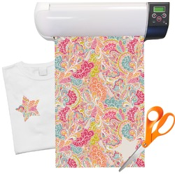 "Abstract Foliage Heat Transfer Vinyl Sheet (12""x18"")"