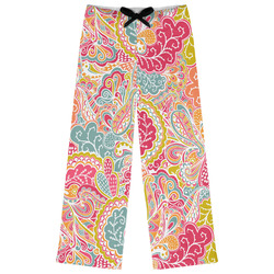 Abstract Foliage Womens Pajama Pants (Personalized)