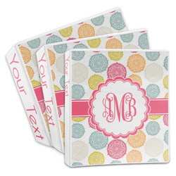 Doily Pattern 3-Ring Binder (Personalized)