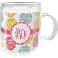 Doily Pattern Acrylic Kids Mug (Personalized)