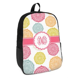 Doily Pattern Kids Backpack (Personalized)
