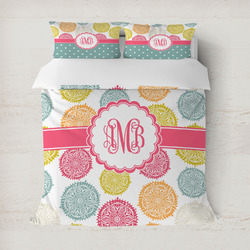 Doily Pattern Duvet Cover (Personalized)