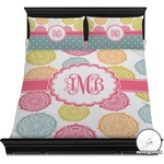 Doily Pattern Duvet Cover Set (Personalized)