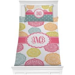 Doily Pattern Comforter Set - Twin XL (Personalized)