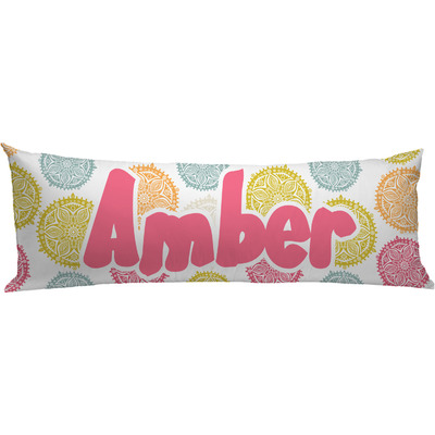 Animal Body Pillow Pattern : Doily Pattern Body Pillow Case (Personalized) - YouCustomizeIt