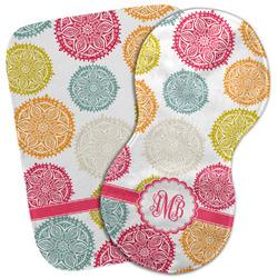 Doily Pattern Burp Cloth (Personalized)