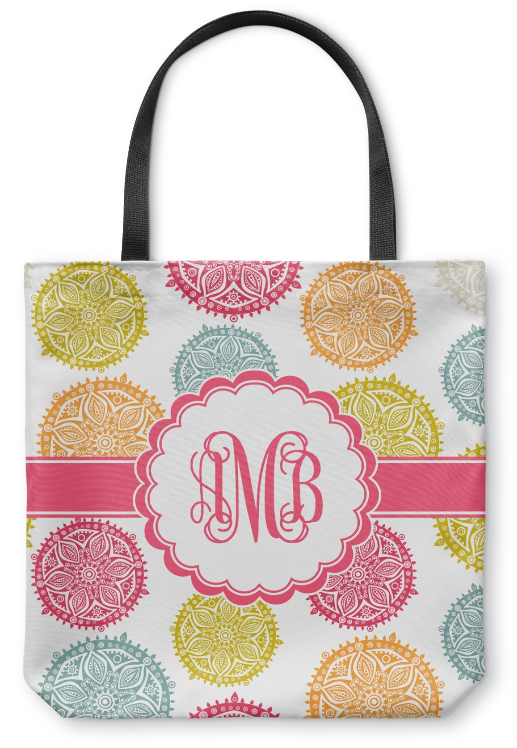 Doily Pattern Canvas Tote Bag Small 13 Quot X13