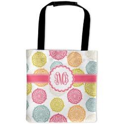 Doily Pattern Auto Back Seat Organizer Bag (Personalized)