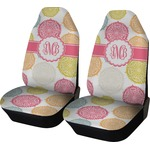 Doily Pattern Car Seat Covers (Set of Two) (Personalized)