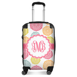 Doily Pattern Suitcase (Personalized)