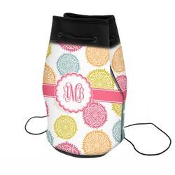 Doily Pattern Neoprene Drawstring Backpack (Personalized)