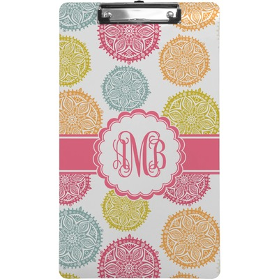 Doily Pattern Clipboard (Legal Size) (Personalized)
