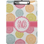 Doily Pattern Clipboard (Personalized)