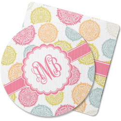 Doily Pattern Rubber Backed Coaster (Personalized)