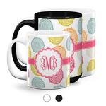 Doily Pattern Coffee Mugs (Personalized)