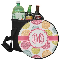 Doily Pattern Collapsible Cooler & Seat (Personalized)