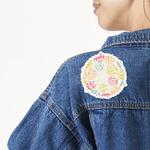 Doily Pattern Large Custom Shape Patch (Personalized)