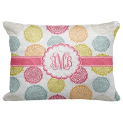 "Doily Pattern Decorative Baby Pillowcase - 16""x12"" (Personalized)"