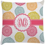 Doily Pattern Decorative Pillow Case (Personalized)
