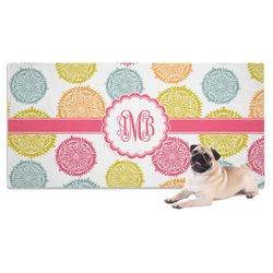 Doily Pattern Pet Towel (Personalized)